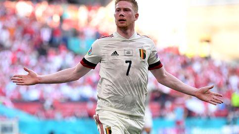 De Bruyne solo necesita media hora: gol, asistencia y remontada ante Dinamarca (1-2)