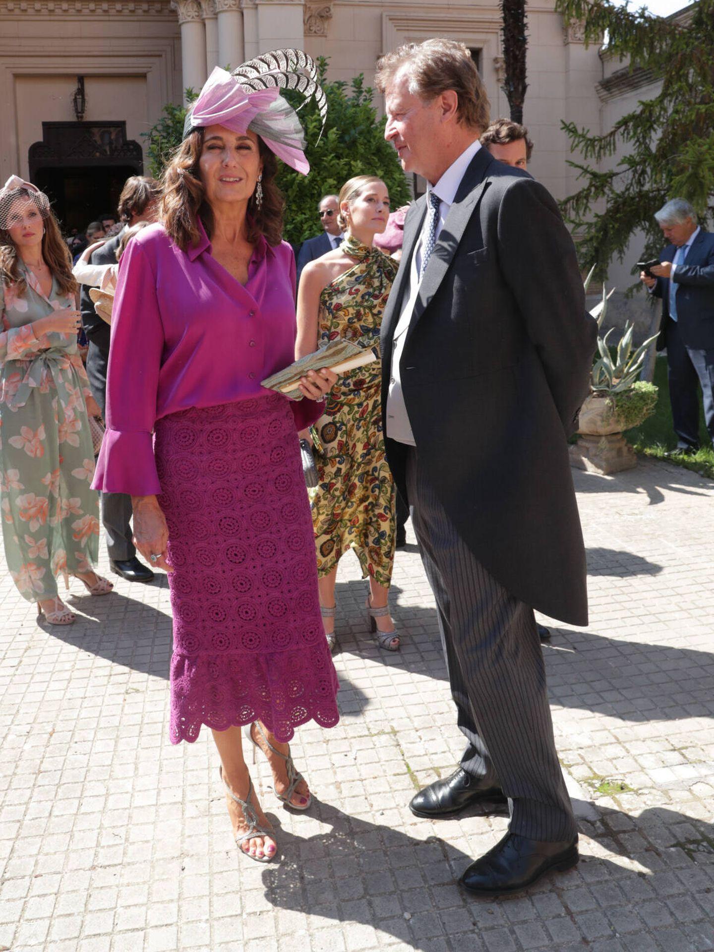Mónica Lacalle y Juan Carlos Corsini. (Gtres)