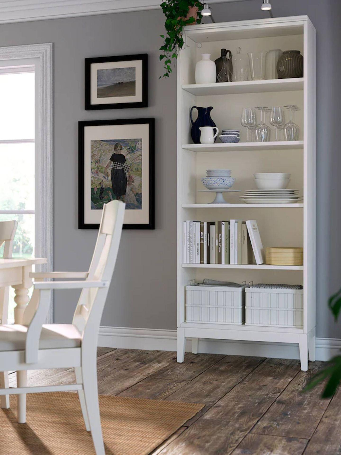 Esta estantería es el nuevo mueble de Ikea ideal para salones pequeños. (Cortesía)