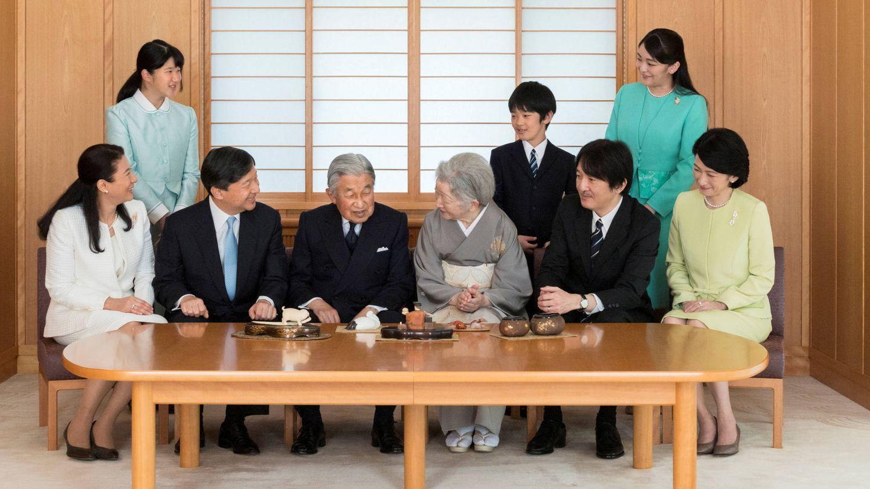 Cada vez son menos los miembros de la familia imperial de Japón. (Getty)