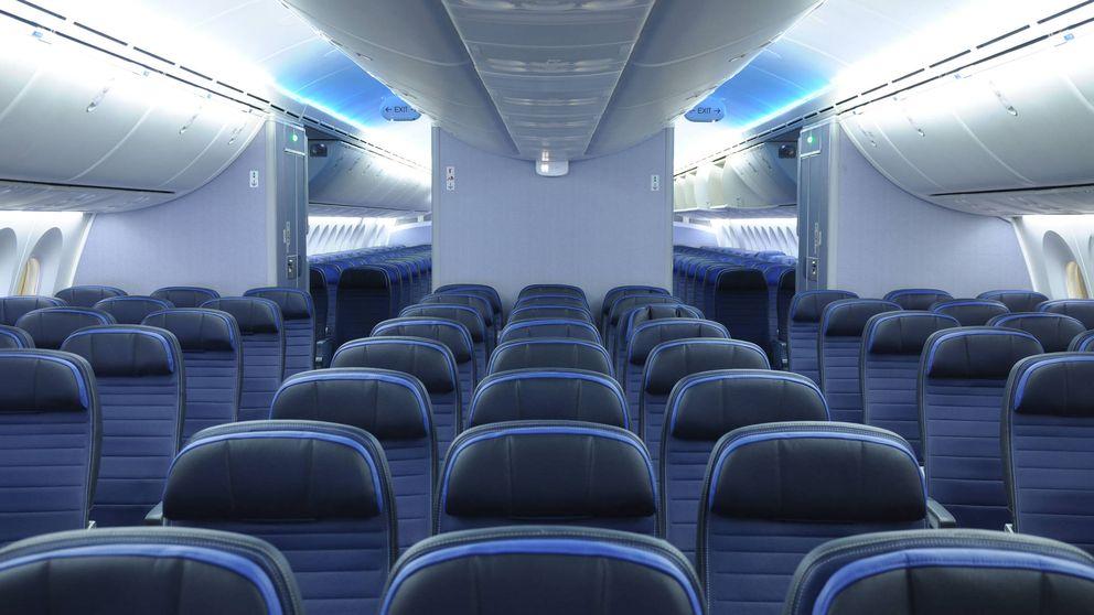 Así han cambiado los asientos de avión con el paso de las décadas