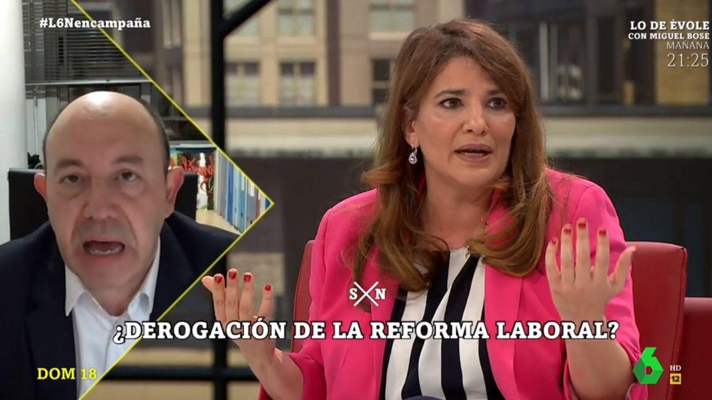 Gran bronca entre María Claver y Bernardos en 'La Sexta noche': Es mentira
