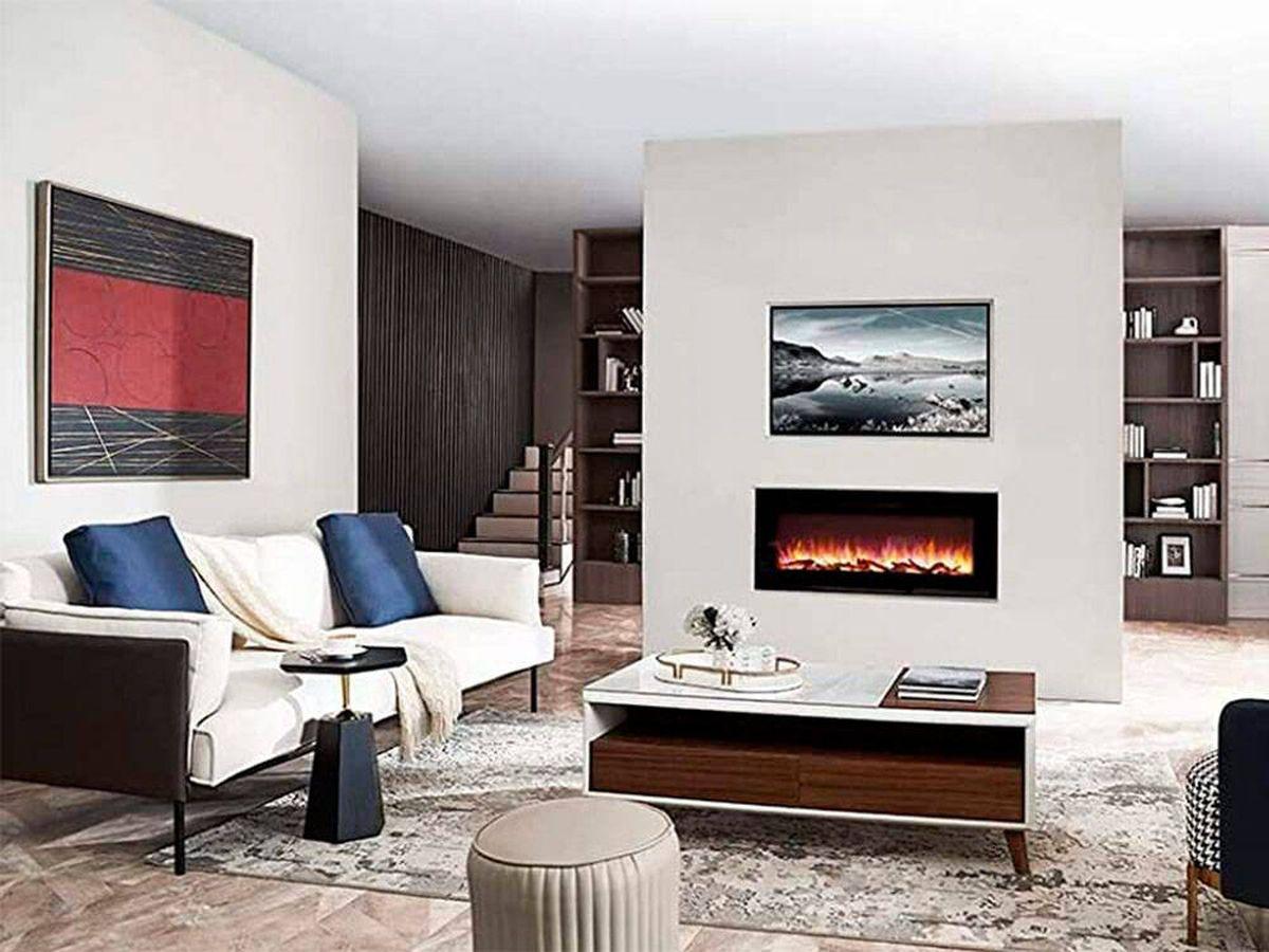 Foto: Decora y calienta tu hogar con las mejores chimeneas eléctricas (Amazon)