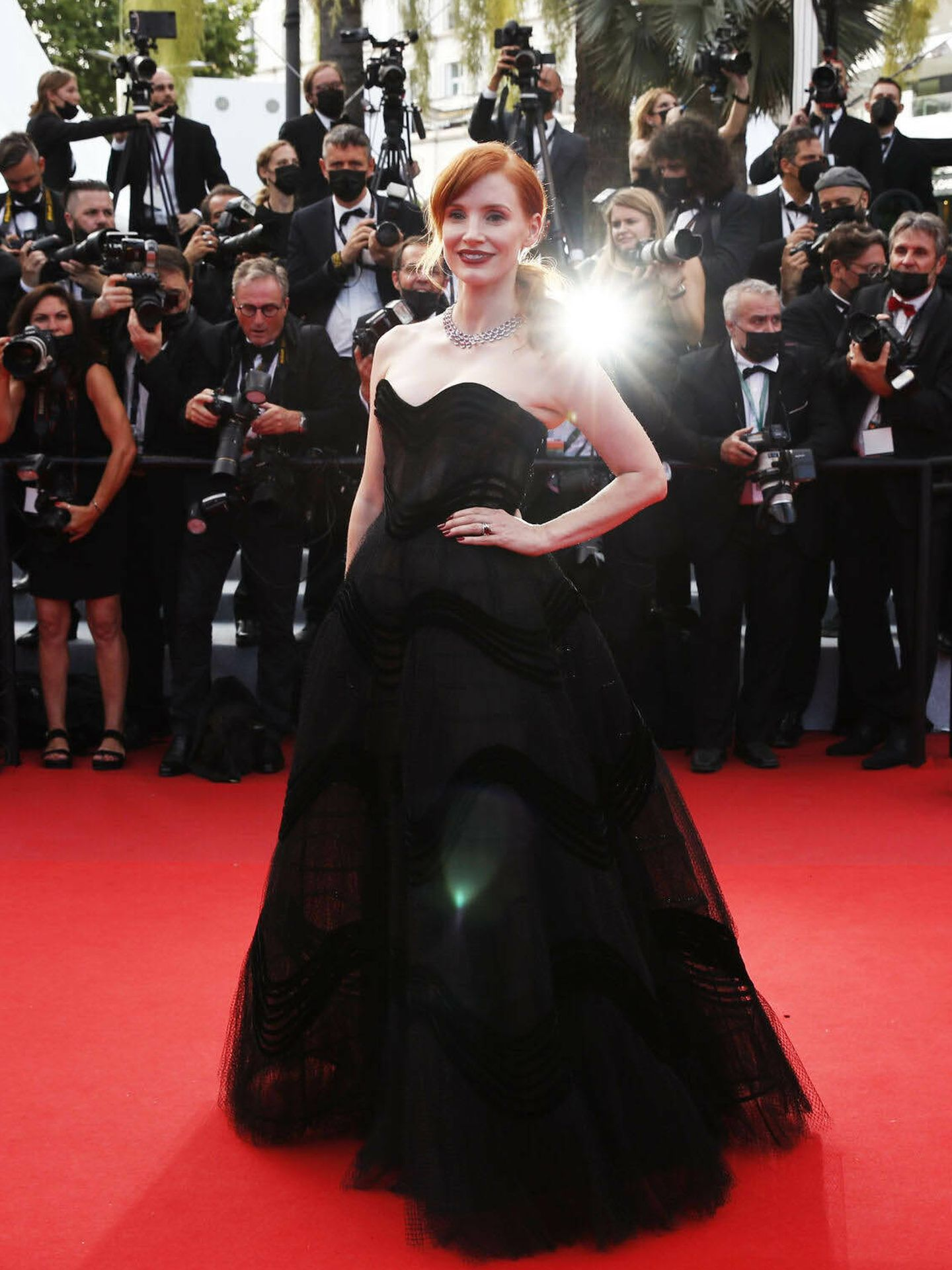 Jessica Chastain. (Reuters)