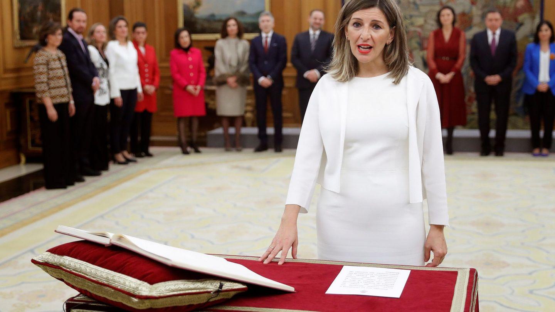 Yolanda Díaz. (EFE)