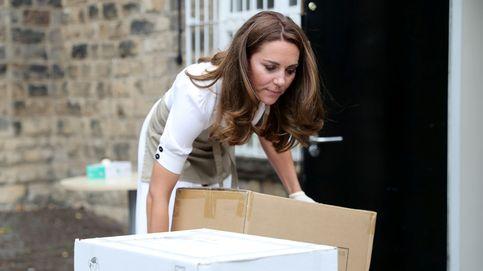 Las fotos más naturales de Kate Middleton: sin maquillar y paseando con Louis en brazos