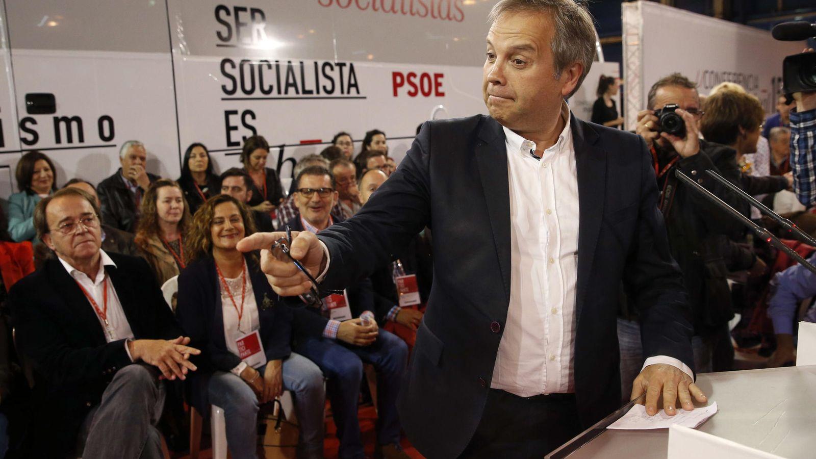 Foto: Miguel Carmona, candidato del PSOE para la alcaldía de Madrid. (Efe)