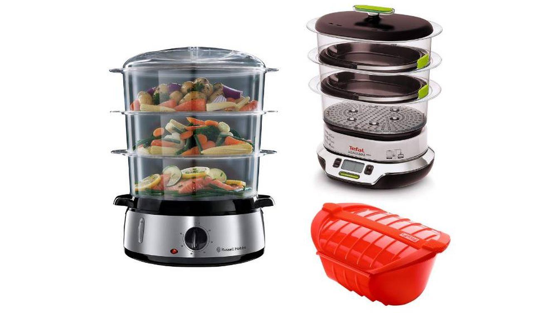 Las mejores vaporeras para cocinar alimentos sanos al vapor