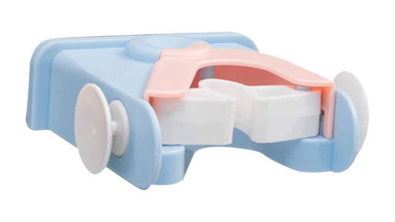 Colgador de escoba y fregona Ceyka ideal para baños