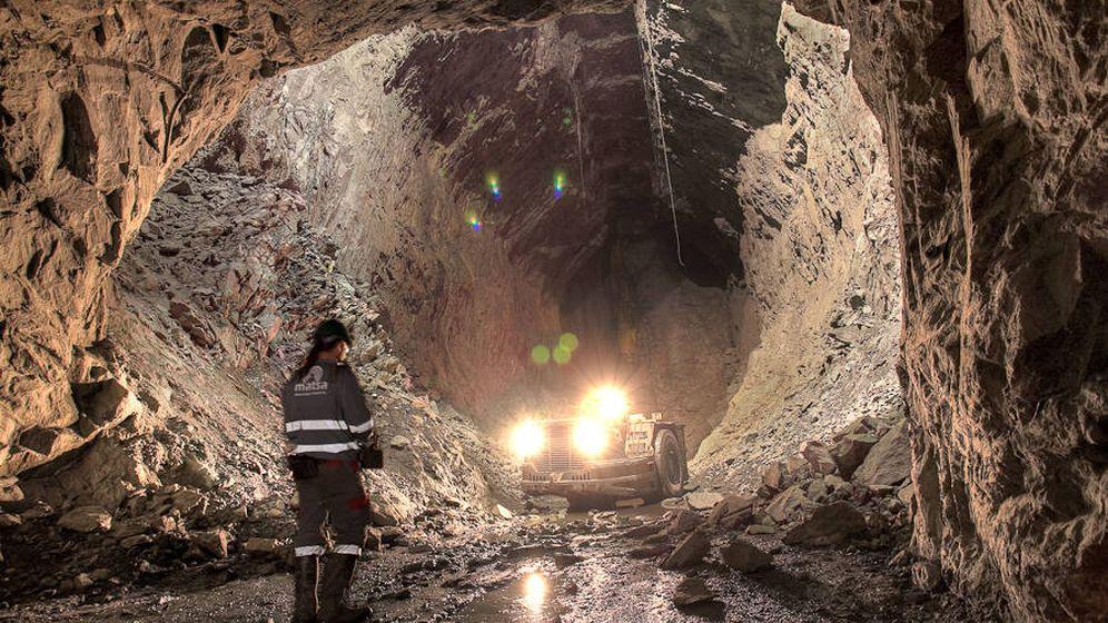 Foto: Interior de una de las minas de Matsa en Huelva. (Matsa)