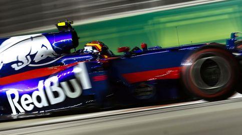 Carlos Sainz exprime su Toro Rosso y logra un décimo puesto en parrilla en Singapur