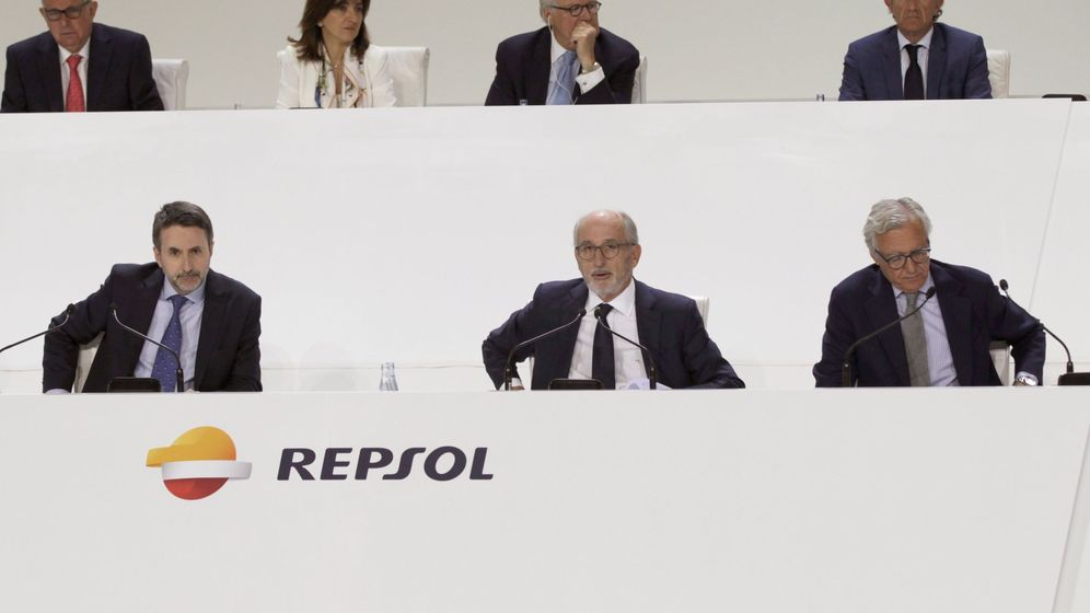 Foto: Foto de archivo de la junta de accionistas de Repsol. (EFE)