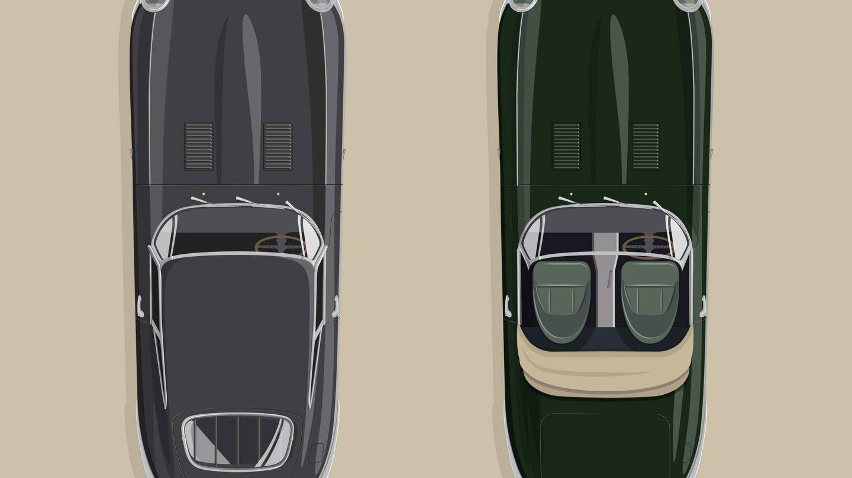 Cada uno de los seis afortunados propietarios tendrá estas dos unidades del E-Type restauradas.