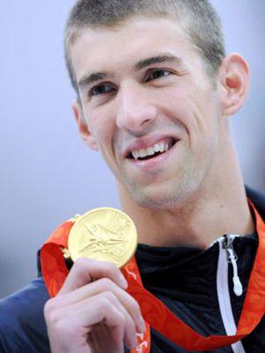 Phelps, tras su quinta medalla, ya es el mayor medallista de oro de la historia del olimpismo