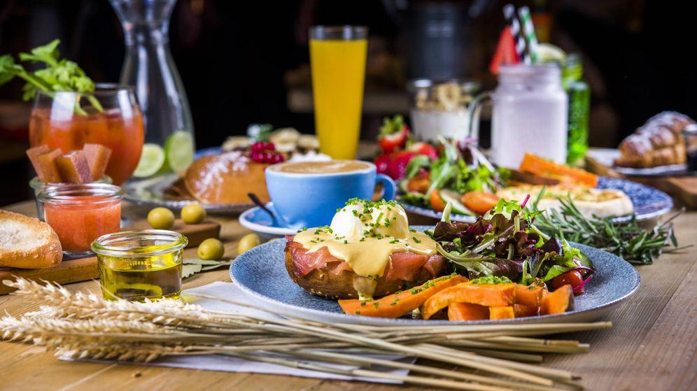 Foto: Brunch del restaurante Bendita Locura.