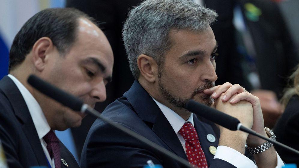 Foto:  El presidente de Paraguay, Mario Abdo Benítez. (Efe)