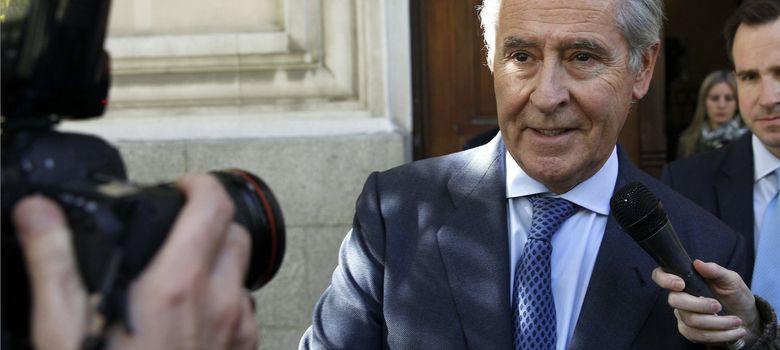 Foto: Caso bles El expresidente de Caja Madrid Miguel Blesa a