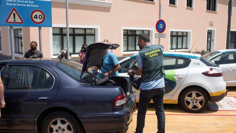 Foto: El Puerto de Mahón y el Club Náutico de Ibiza fueron registrados. (EFE)