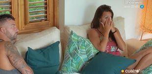 Post de Fani se rompe (y se consuela) con Rubén en 'Tentaciones' tras el grito de