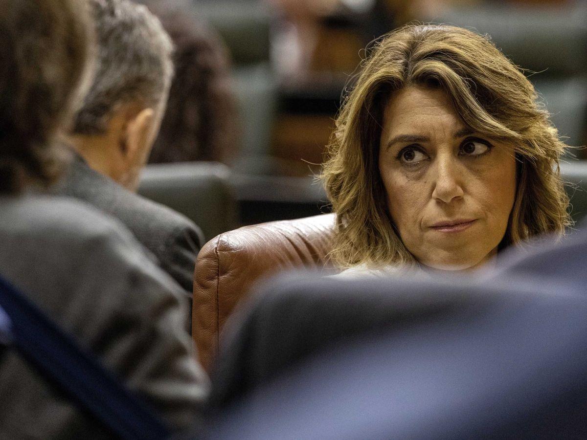 Foto: La presidenta del grupo parlamentario socialista, Susana Díaz. (EFE)