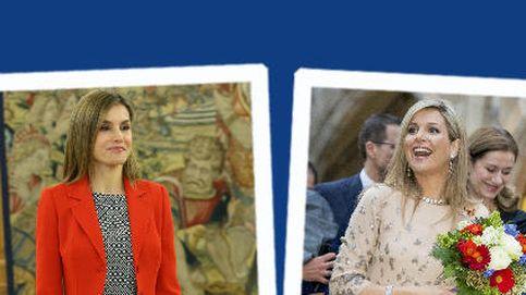 Estilo Real: Letizia repite pantalones imposibles  y Máxima se autoclona