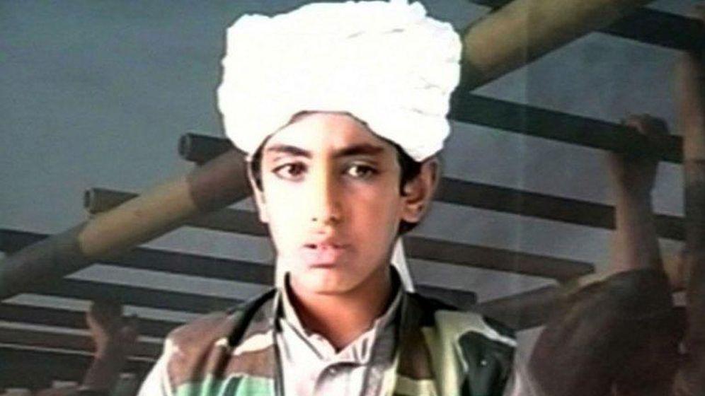 Foto: Hamza Bin Laden, uno de los hijos de Osama Bin Laden