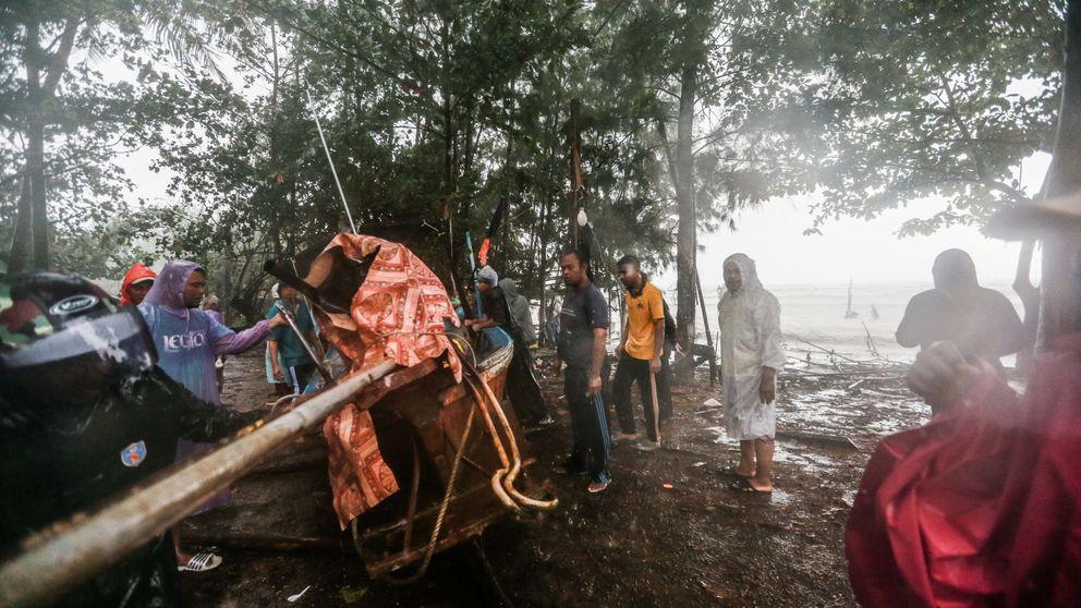 La tormenta 'Pabuk' golpea Tailandia: un muerto y 6.000 personas evacuadas