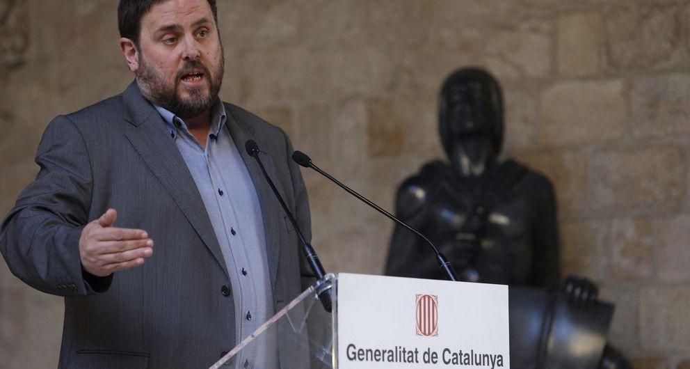 El presidente de ERC, Oriol Junqueras. (EFE)