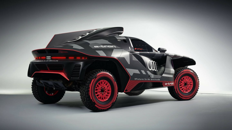 El diseño exterior del RS Q e-tron es obra del argentino Juan Manuel Díaz, responsable de ese departamento en Audi Motorsport.