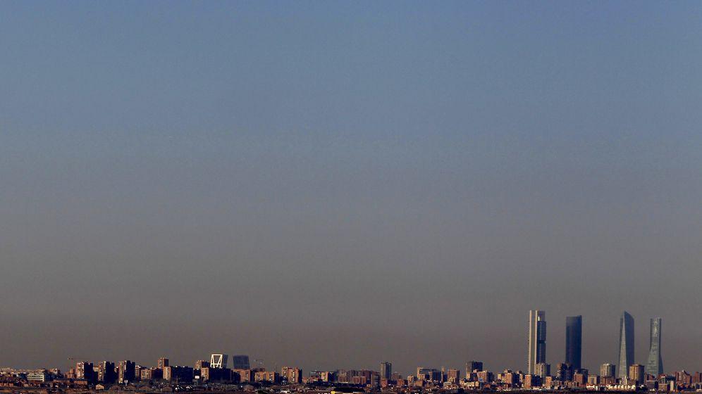 Foto: 'Boina' de contaminación sobre Madrid. (Reuters)