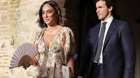 Tamara Falcó, su marca salva-bodas y mascarilla de publi en la boda de Cortina