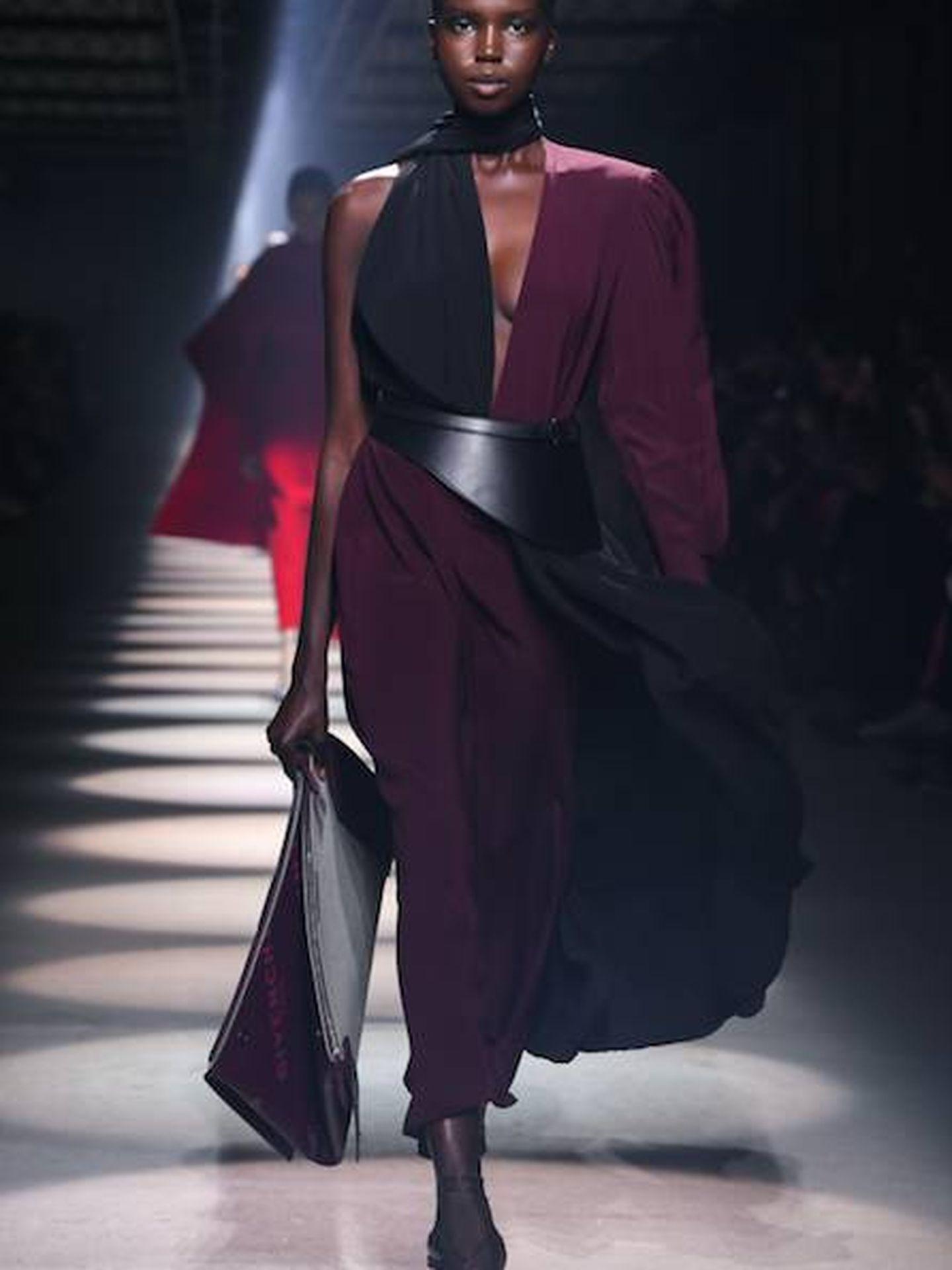 Imagen del último desfile de Givenchy.  (Getty)