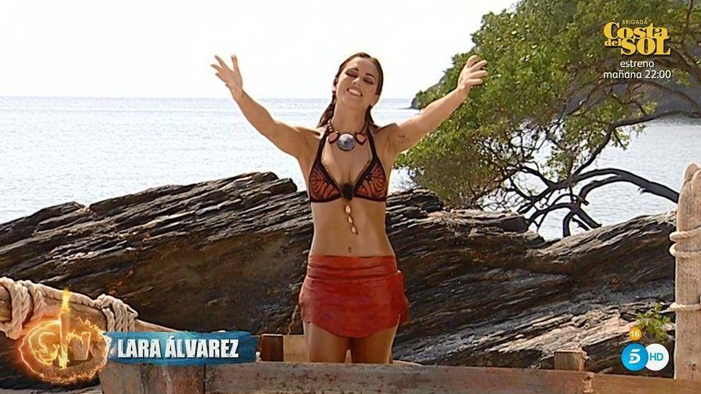 Lara Álvarez regresa a 'Supervivientes 2019' tras su baja médica