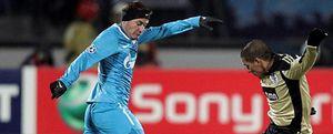 Heroica remontada del Zenit ante el Benfica en un partido que alcanzó los -13 grados
