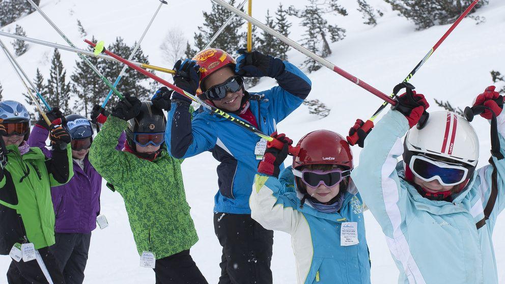 El Pirineo catalán, al servicio de los pequeños esquiadores