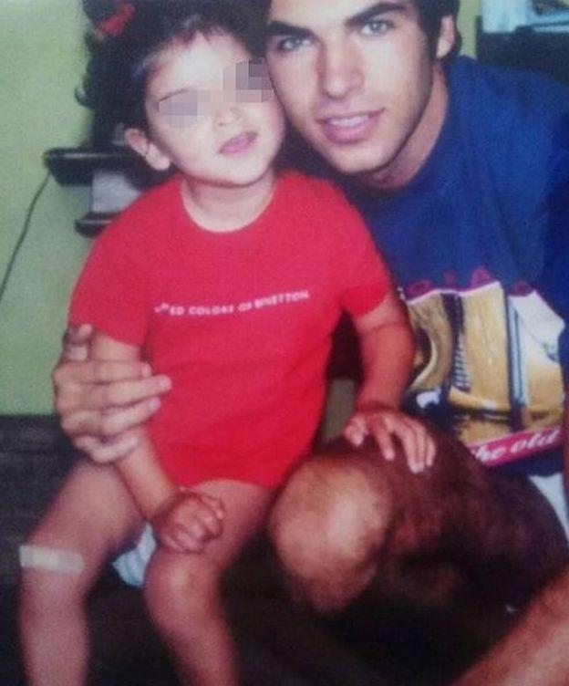 Foto: Cayetano Rivera con su hija Lucía