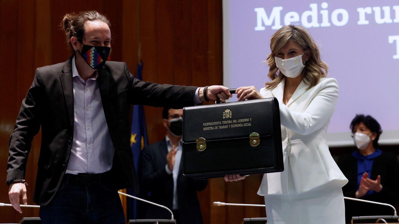Yolanda Díaz evoca la unidad en el Gobierno y los días de responsabilidad compartida