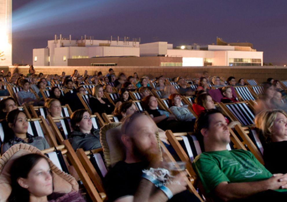 Foto: Una sesión del Rooftop Movies de Perth (Australia)