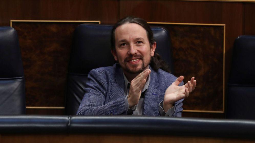 Foto: Pablo Iglesias, la semana pasada, en el Congreso. (EFE)