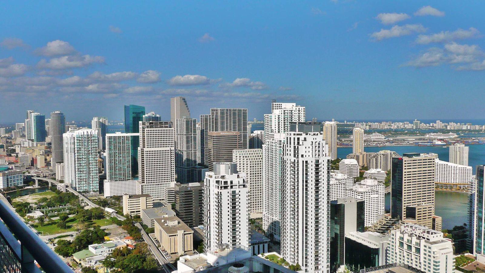 Foto: Panorámica de Miami.