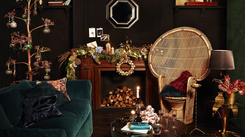 Nos negamos a renunciar al lujo y al glamour. Queremos un universo 'gold'. Ambiente de Zara Home (zarahome.com)