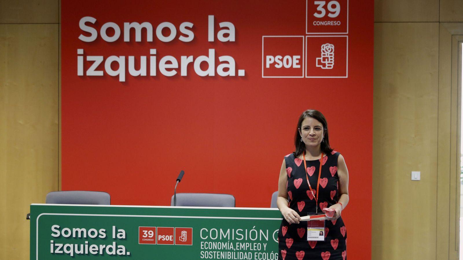Foto: Adriana Lastra, la nueva número dos del PSOE. (EFE)