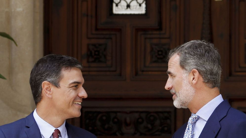 Foto: Pedro Sanchez y Felipe VI. (EFE)