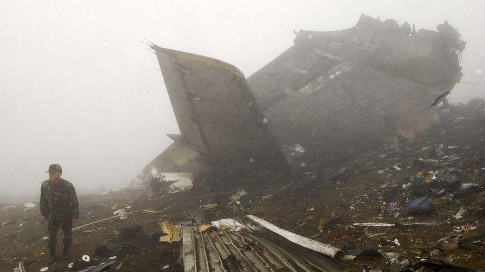 Foto: Accidente del Yak 42. (EFE)
