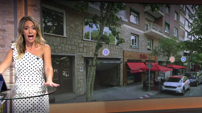 El piso de Fabiola Martínez según la investigación del programa 'Viva la vida'. (Mediaset)