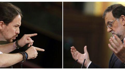 Rajoy y Pablo Iglesias, la doble investidura