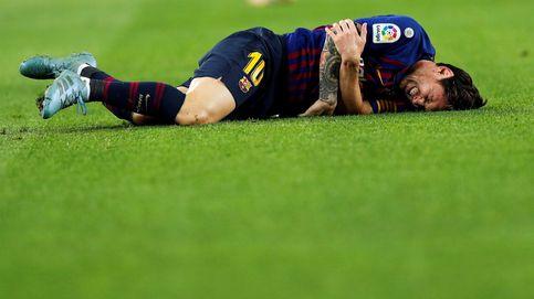 Messi sufre una lesión en el brazo y se perderá el Clásico contra el Real Madrid