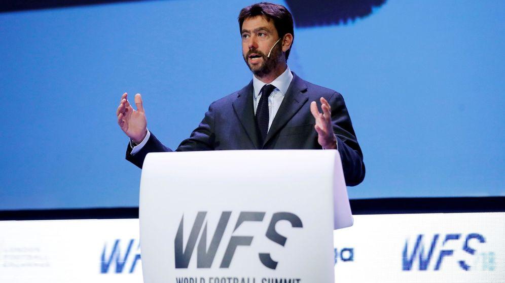 Foto: Andrea Agnelli en el World football summit. (EFE)