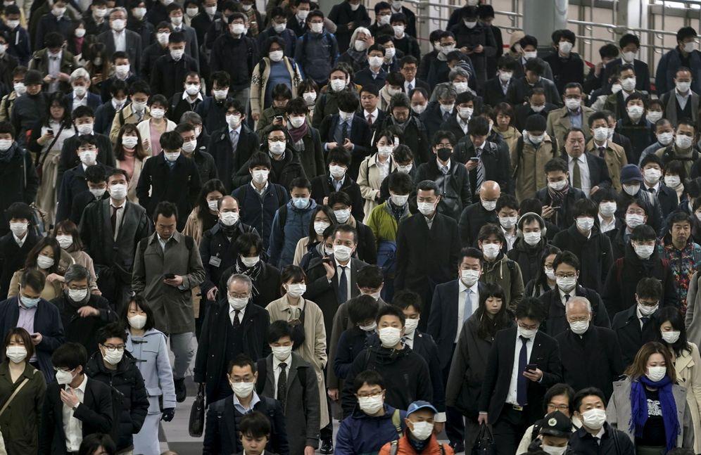 Foto: Trabajadores en Japón. (EFE)