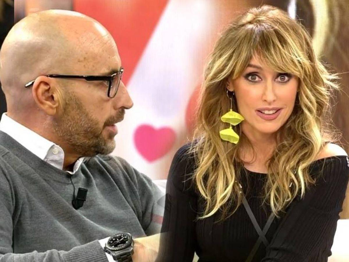 Foto: Diego Arrabal y Emma García, en 'Viva la vida'. (Mediaset España)